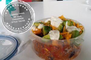 Quinoa dans un seul chaudron style tacos