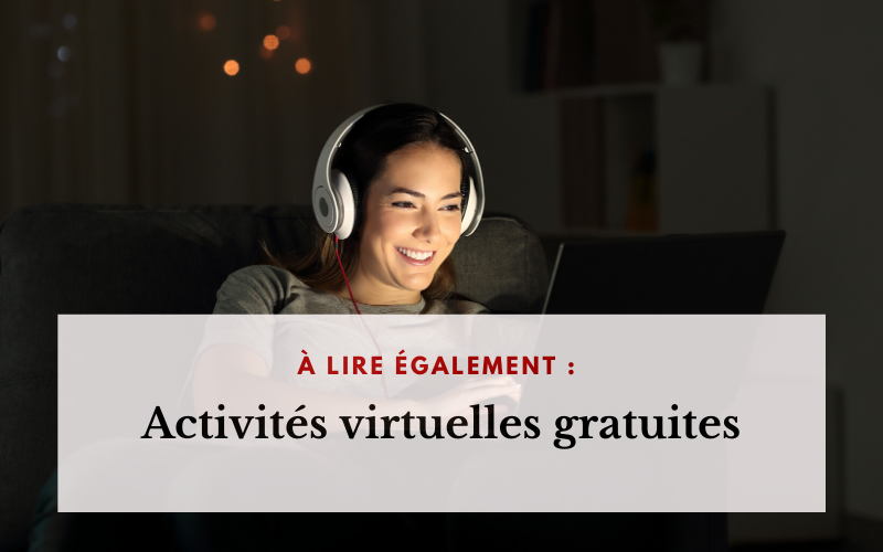 À lire activités virtuelles gratuites