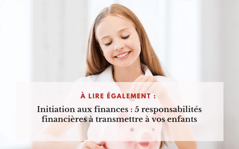 Initiation aux finances personnelles
