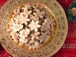 Biscuits sablés à la cannelle