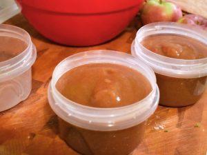 Compote de pommes à la mijoteuse