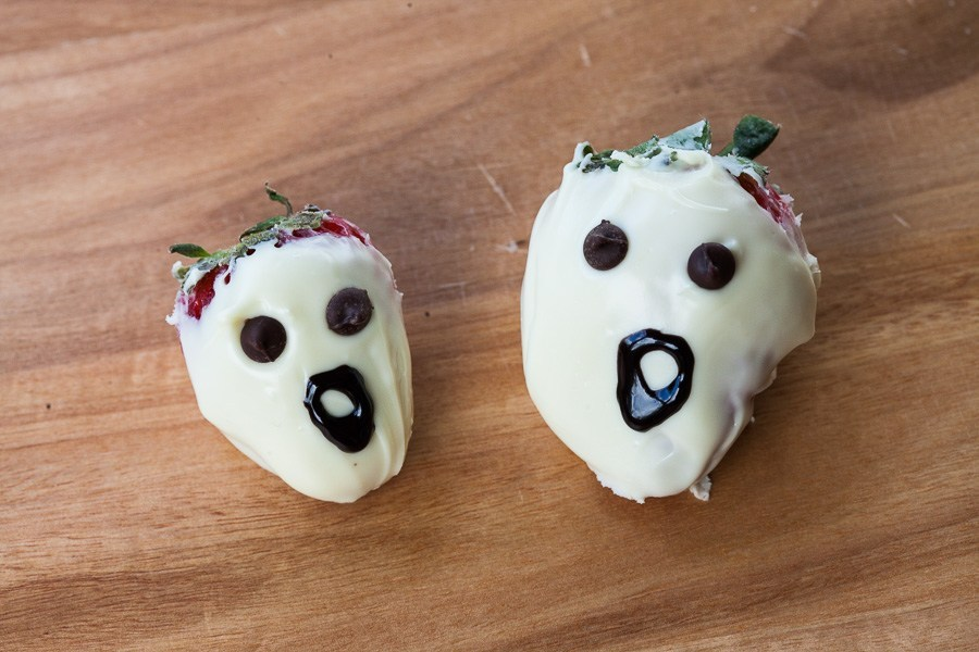 Collations Halloween fraises