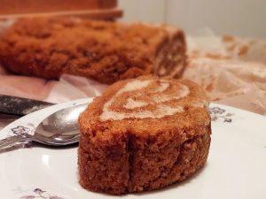 Gâteau roulé citrouille et épices