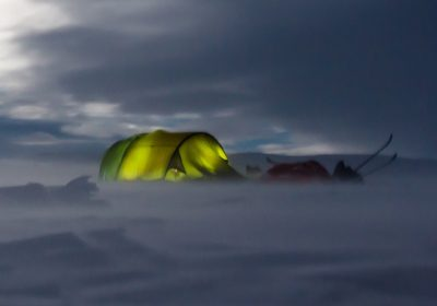 camping d'hiver