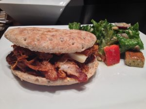 porc effiloché sandwich